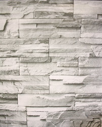 Grau D Feature Wall Brick Vinyl Pvc Folie Selbstklebend Tapete Rolle Waschbar Amazon De Kuche Haushalt