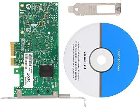 ASHATA Tarjeta de Red Gigabit, Intel I350-t2 Tarjeta de Red ...