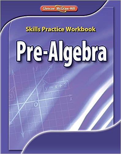Glencoe Pre Algebra Worksheets Worksheets for all | Download and ...