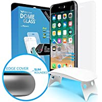 Dome Glass iPhone 8 Screen Protector Tempered Glass Shield