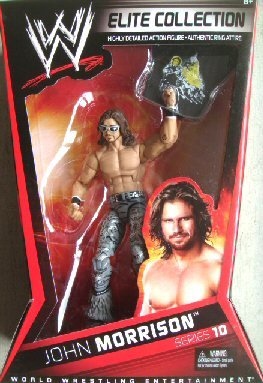 WWE Collector Elite John Morrison Figure - Series #10 by Mattel