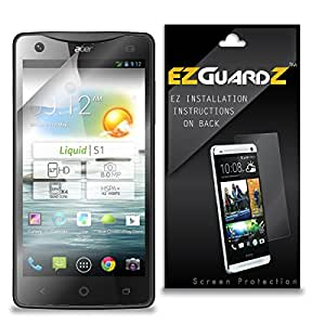 (6-Pack) EZGuardZ Screen Protector for Acer Liquid S1 (Ultra Clear)