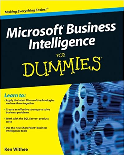 amazon com microsoft business intelligence for dummies