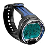 Cressi Leonardo Dive Computer Watch -Wrist (Black / Blue )
