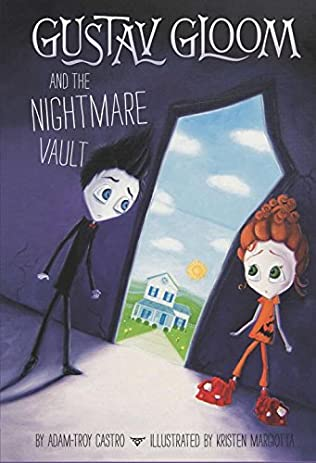 book cover of Gustav Gloom and the Nightmare Vault