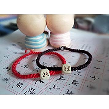 Amazon Male And Female Couple Lettering Bracelet Student 10 Yuan One Pair Of Custom Made Ly Korean Birthday Gift Ideas Beauty