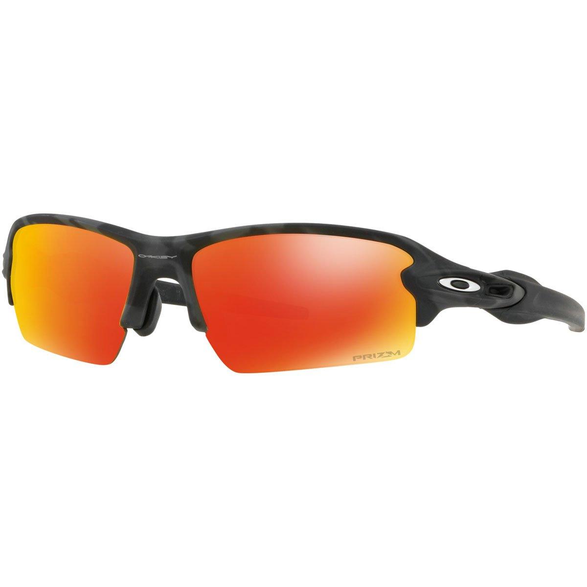 Oakley Men's Flak 2.0 (A) Sunglasses,Black Camo