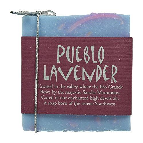 Sandia Soap Company Handmade Soap 2 Pack (Pueblo Lavender)