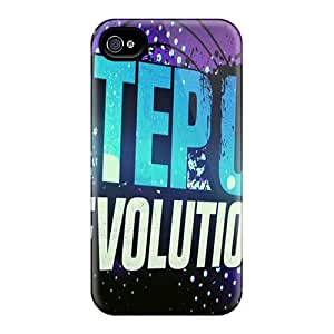 EiZZUTj1239plWOs Anti-scratch Case Cover Mialisabblake Protective Step Up Revolution Case For Iphone 4/4s