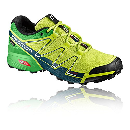 Homme Vario 49 Speedcross Chaussures Lime EU Mallard Green de Salomon Blue Citronier 3 Punch GTX 3 Vert Trail Classic tq8Yn8d5x