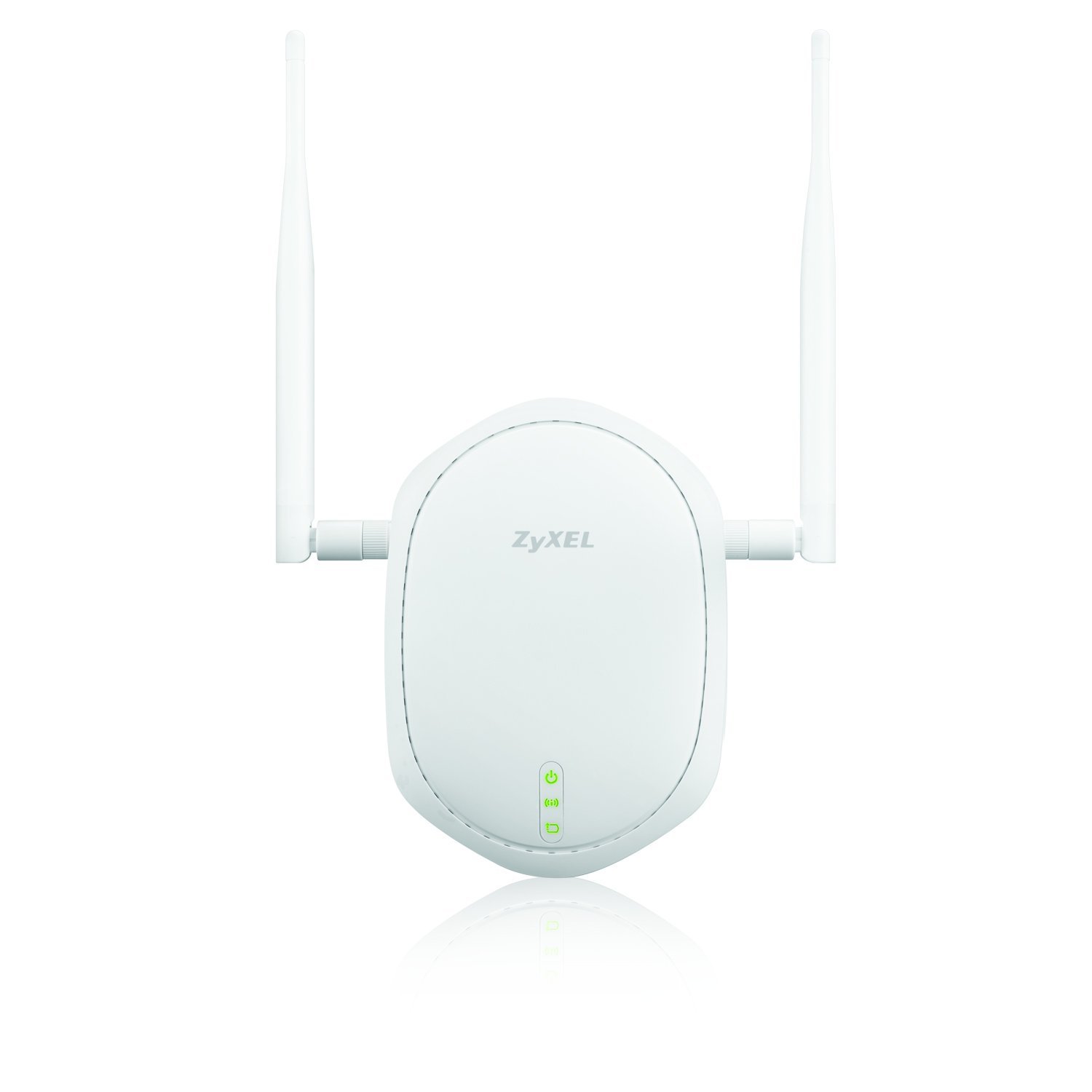 Zyxel WiFi Access Point Single Band 802.11n PoE with 2 External Antennas for Long Range [NWA1100-NH]