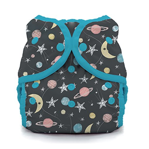 Thirsties Duo Wrap Cloth Diaper Cover, Snap Closure, Stargazer Size Two (18-40 lbs)