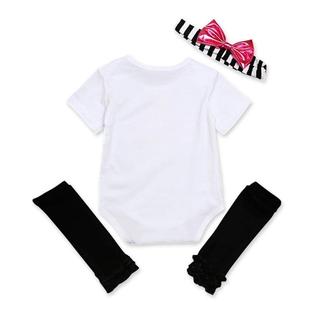 Headband Summer Clothes Leggings Kehen Infant Baby Toddler Girl Valentines Day Outfit Mamas Mini Romper