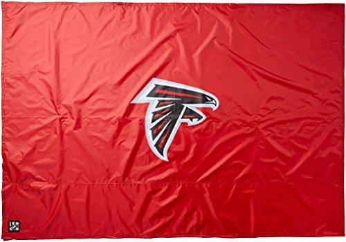 "Logo Brands NFL Atlanta Falcons 9"" x 9"" Side Panel Canopy, One Size, Black"