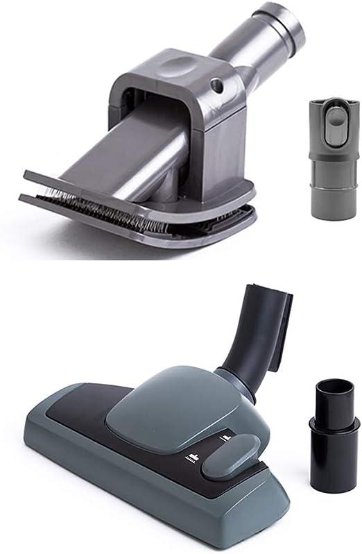 Cepillo con adaptador universal 32 a 35 mm (equivalente a Vario 600, 9001661264) y Cepillo para las mascotas con adaptador para aspirador Dyson (reemplaza a 921001-01, 912270-01): Amazon.es: Hogar