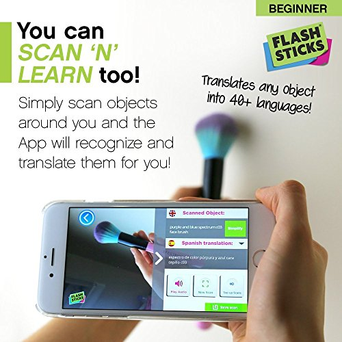 FlashSticks® Spanish Flash Cards for Beginners   Best Way to