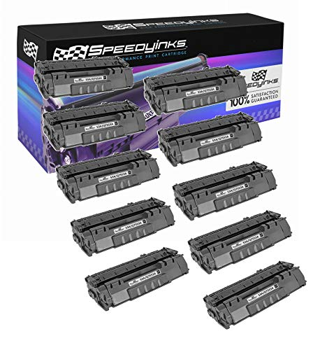 Speedy Inks Compatible Toner Cartridge Replacement for HP 53X High-Yield (Black, 10-Pack) (Hp 10k Yield Toner)