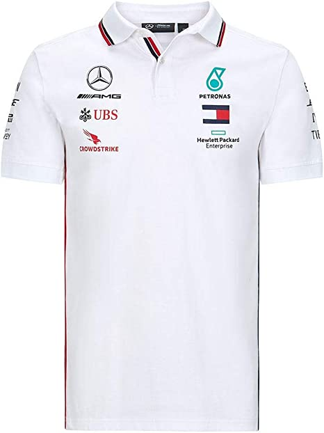 Mercedes-Benz Mercedes Amg Petronas Team Poloshirt Camisa de Polo para Hombre: Amazon.es: Ropa y accesorios