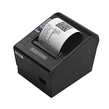 Impresora de recibos térmica de 80 mm con cortador automático ...