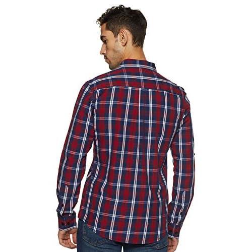 518acmpIdsL. SS500  - Amazon Brand - Symbol Men's Checkered Regular Fit Casual Shirt