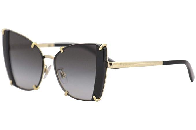 Dolce & Gabbana 0DG2214 Gafas de sol, Gold/Black, 53 para ...