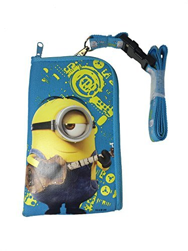 (Despicable Me Minion ID Holder Lanyard - Baby Blue by Universal Studio)