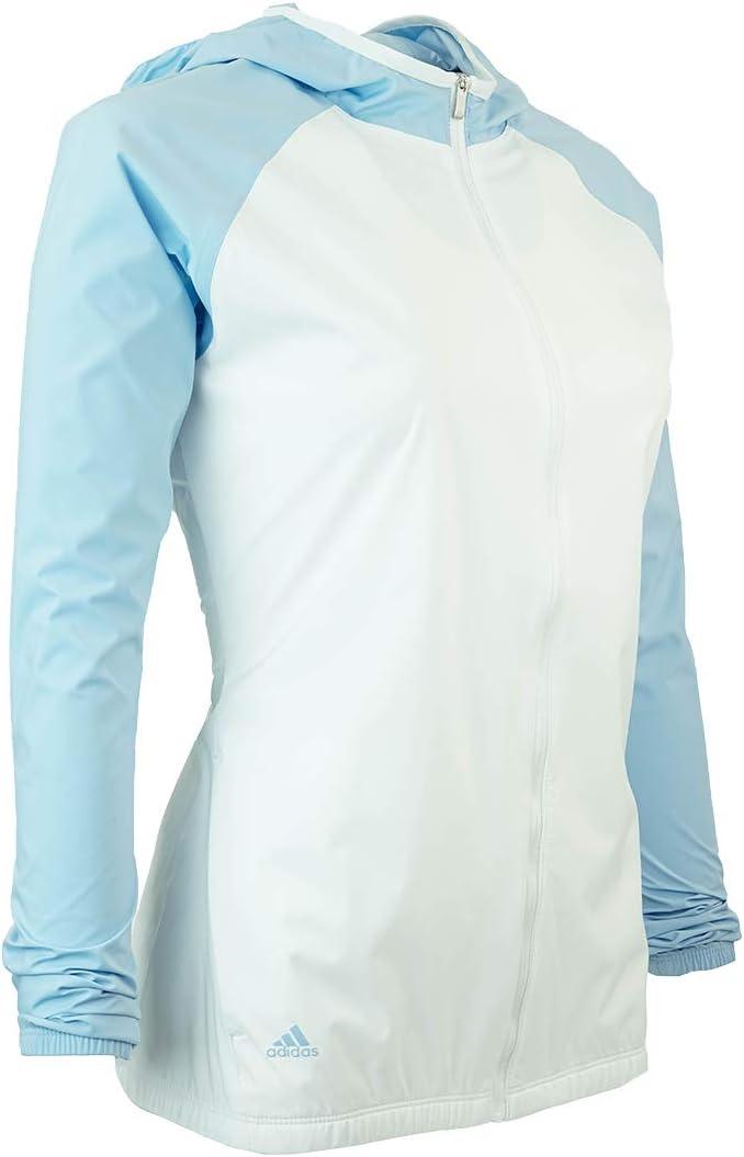 adidas Climastorm Jacket Femme Blanc/Bleu Brillant.