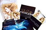 "TAYLOR SWIFT ""FEARLESS"" BOX SET w/ T-Shirt, Picture Book, Leather Bracelet and CD {LIMITED EDITION}"