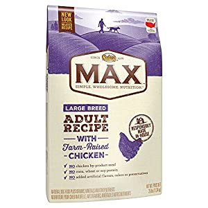Nutro Max Large Breed Adult Dry Dog Food With Farm Raised Chicken, 25 Lb. Bag 34