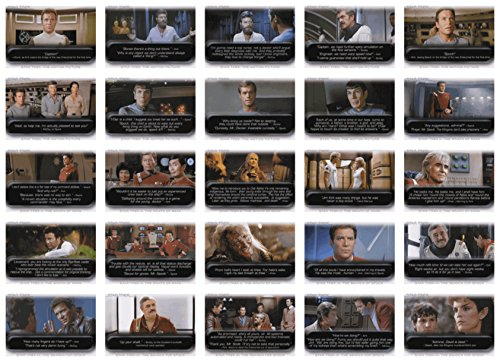 [2010 Rittenhouse Quotable Star Trek Movies 90 Card Base Set] (Tpol Costume)
