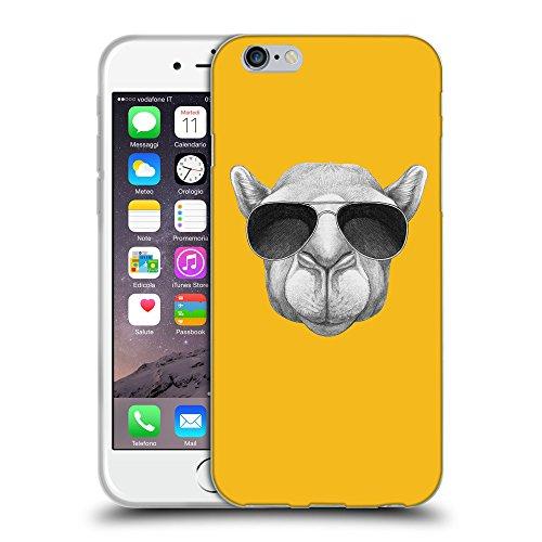 GoGoMobile Coque de Protection TPU Silicone Case pour // Q05460602 Chameau soleil ambre // Apple iPhone 7