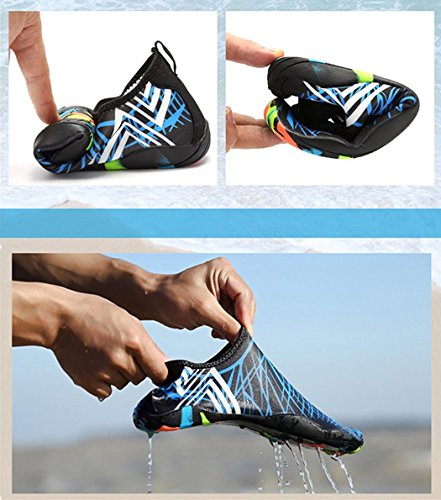 Eagsouni a Skin Aqua Swim Running Lake Surf Men Beach Park Shoes Boating Blue Dry Socks Yoga Garden Walking Quick Shoes for Driving Water Barefoot Women wqqXOrzS