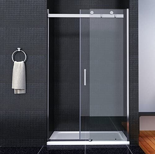 8 mm Mampara de ducha puerta nichos para puerta con al nano-recubrimiento Puerta Corredera con ducha Taza 120 x 70 cm (SB12 – 2EA + SB12 – 2Eb + asr7012): Amazon.es: Hogar