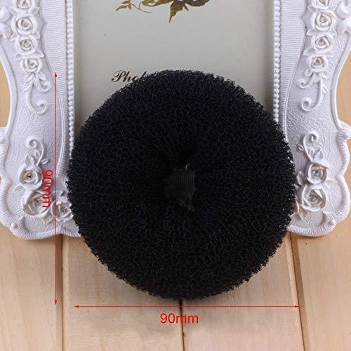 European American Fashion Portable Women Up-do Hair Styling Band DIY Hair Bun Maker Curler Quick Fold Wrap Supplies