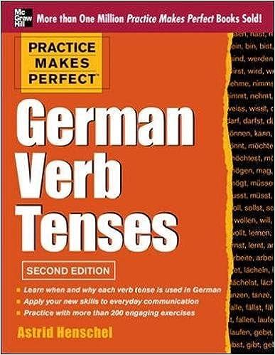 german verb conjugation list pdf