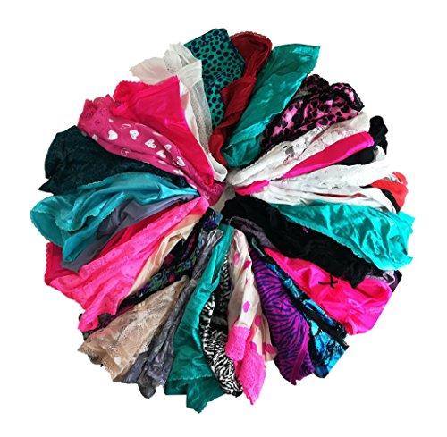 jooniyaa Varity Of Underwear 24 Pack Boyshorts Bikinis Hipster Briefs Lace Cotton Panties (Boy Cut Briefs)