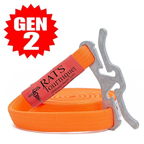 RATS Rapid Application Tourniquet System | Life Saving | Hemorrhage Kit | Emergency | First-Aid | Survival (Orange, 10 Pack (School and Church Bundle)) (Parent Survival Kit For First Day Of School)