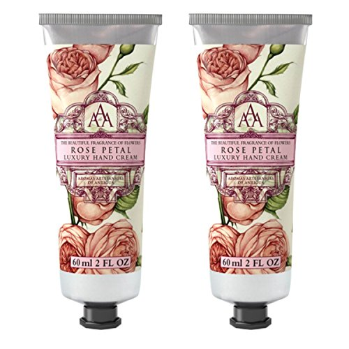 Somerset Toiletry Co. AAA Floral Hand Cream 2-Piece Set - Rose Petal