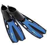 Best Foot Scubas - TUSA Sport Full Foot Snorkeling Fins, X-Small, Blue Review