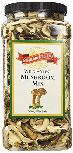 Supremo Italiano Wild Forest Mushroom Mix 16 Oz.