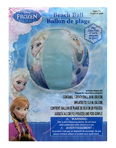 Disney Frozen Elsa, Anna and Olaf Inflatable Beach - Disney Baby Balls