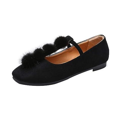 Con Mujer Zapatos Pelo Sandalias De sonnena Bola Planos Para Roman qwvwO1E