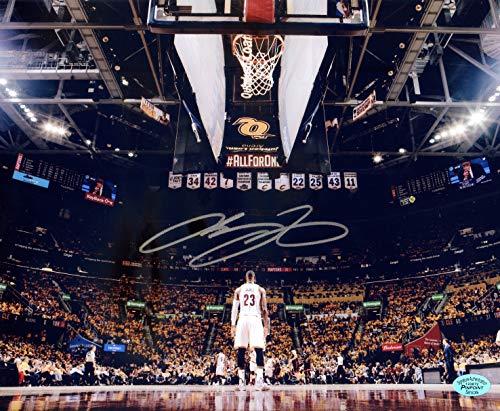 Lebron James Cleveland Cavaliers Cavs Signed Autographed 8