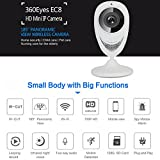 Bellcam IP Camera, WiFi Internet Wireless Network Security camera, Home Surveillance System, Pet and Baby Monitor with Night Vision Motion Detection Two-way Audio Wide Angle Panoramic Lens