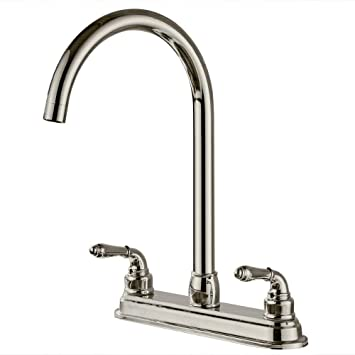 Moralty NEW 2-handle Single Hole RV Mobile Home Kitchen Sink ... on mobile home locks, mobile home faucet replacement, mobile home shower bases, mobile home water softeners, mobile home kitchen design, mobile home kitchen sinks, mobile home kitchen paint colors, mobile home fittings, mobile home garden faucets, mobile home kitchen cabinets, mobile home mirrors, mobile home drains, mobile home lamps, mobile home kitchen pipes, mobile home kitchen repair, mobile home kitchen furniture, mobile home lavatory faucets, mobile home kitchen islands, mobile home kitchen bath, mobile home kitchen appliances,