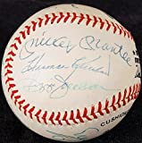 500 Home Run Club Signed Autographed ONL Baseball Mantle Mays Aaron JSA