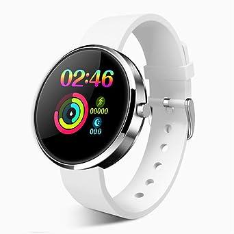 FMWLKJ Smartwatch Ip68 Wasserdichtes Herzfrequenzmessgerät ...