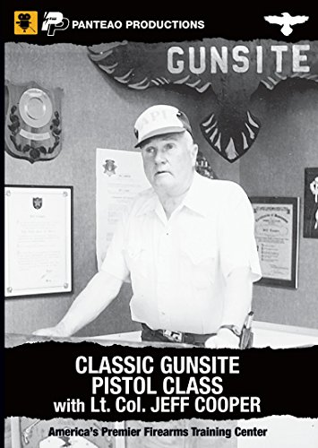 Panteao Productions Gun Site Classic Pistol Class Lt. Col. Jeff Cooper Training (Men Col Spray)