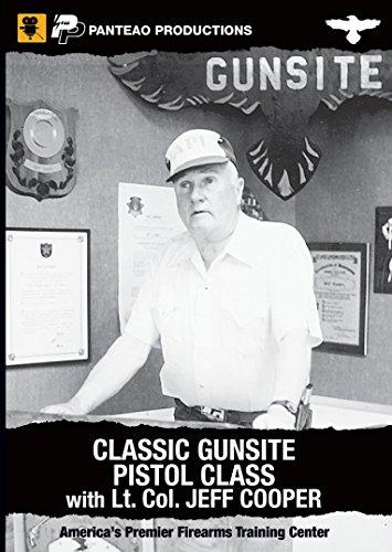 Panteao Productions Gun Site Classic Pistol Class Lt. Col. Jeff Cooper Training (Proper Training)