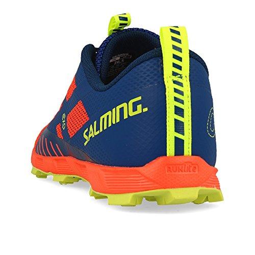 Salming OT Comp Shoe Men Orange Blue